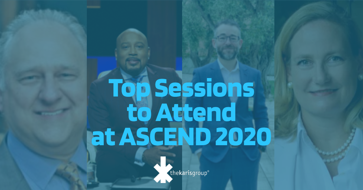 Top Sessions to Attend at ASCEND 2020